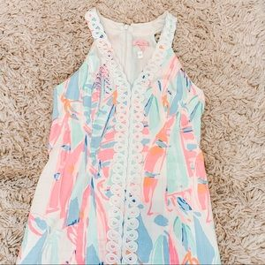 "✰ Lilly Pulitzer shift dress in ""Multi Out To Sea"""